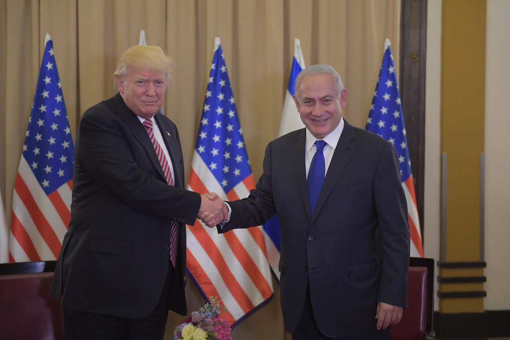 "Image: T""Trump Visits Israel"" by IsraelMFA is licensed under CC BY-NC 2.0"