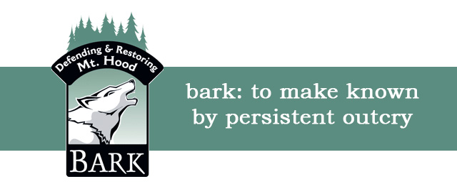 bark: to make known by persistent outcry