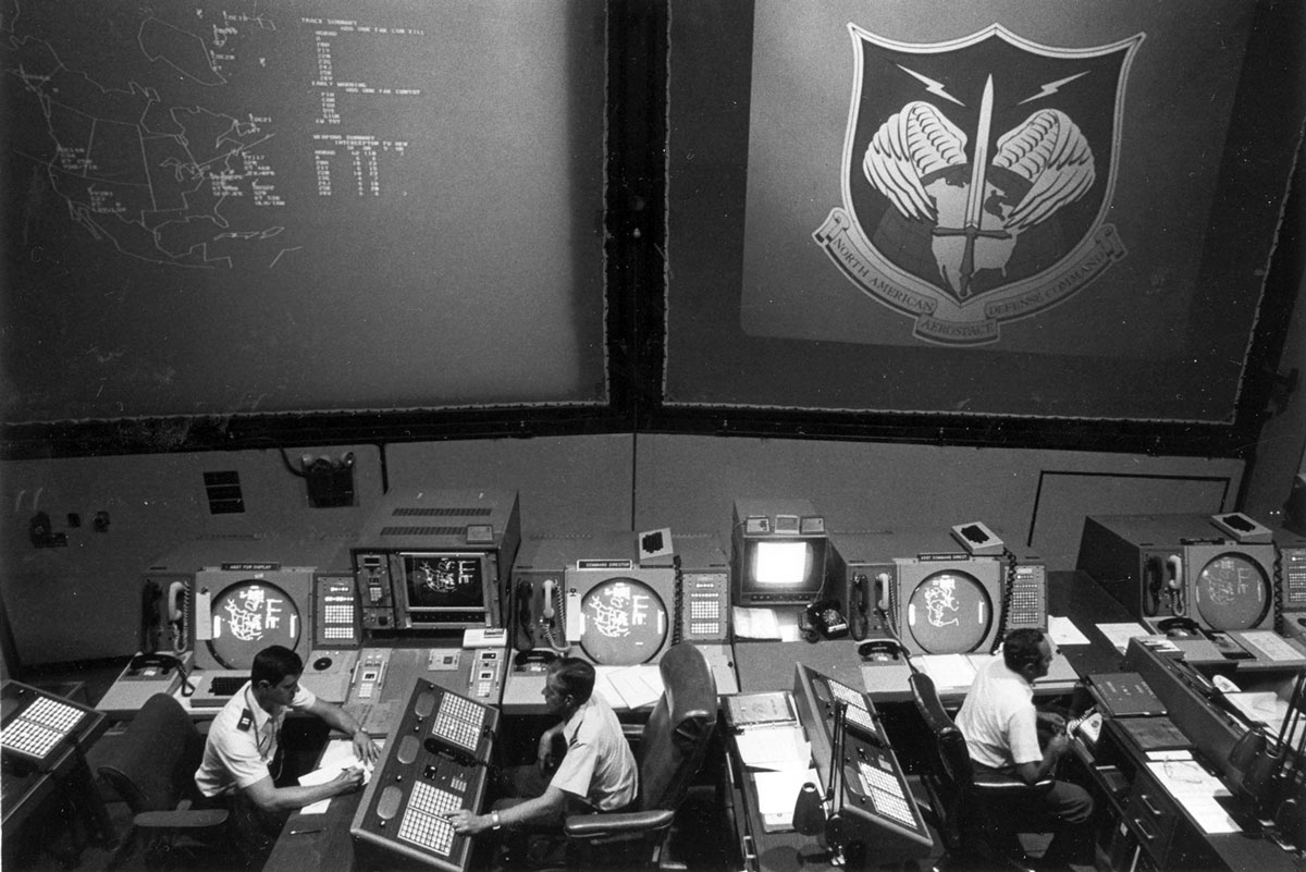 Command post for all NORAD operations