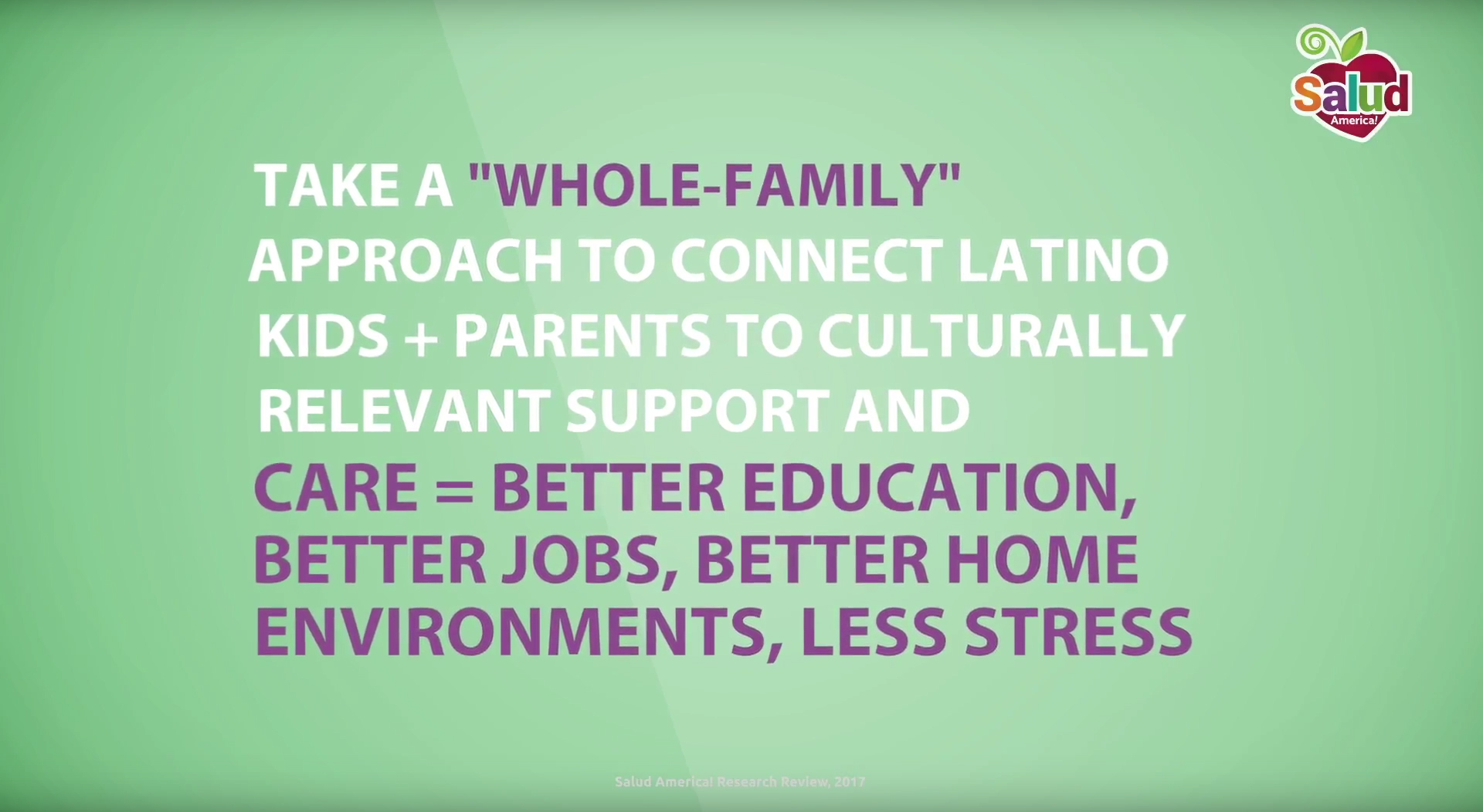 Take action for whole-family support