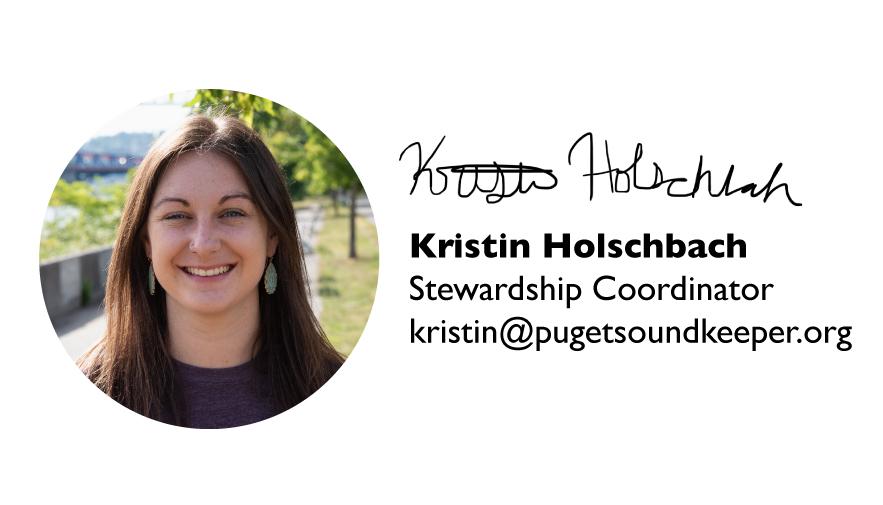 Kristin Holschbach, Stewardship Coordinator