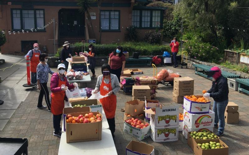 The Richmond Neighborhood Center Food Pantry